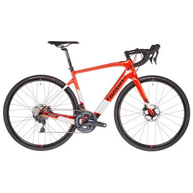 Vélo de Course Électrique WILIER TRIESTINA CENTO1 HYBRID Shimano Ultegra R8020 34/50 Rouge 2021